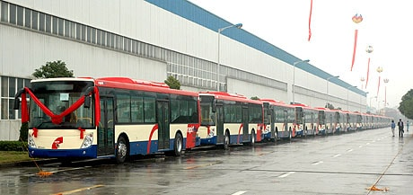 الحافلات في ماليزيا