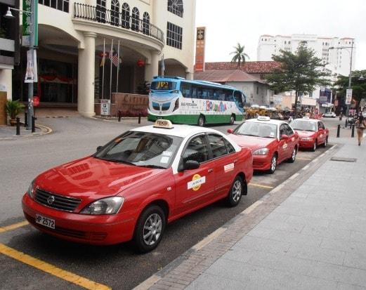 سيارة الأجرة في ماليزيا